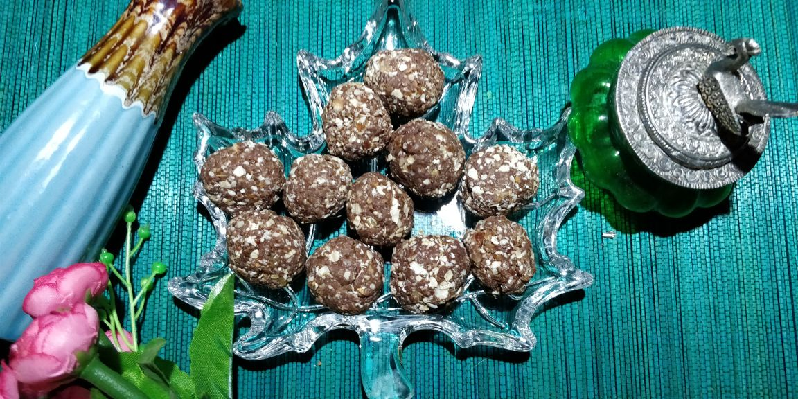 Dry Fruit Laddoos - A healthy and tasty delight for weight watchers.