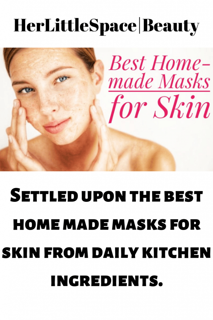 5 Best Home-made Masks For Your Skin