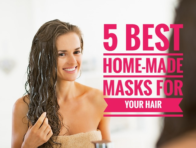 5 Best Home-made Masks For Your Hair